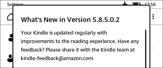 Copy the Update to Your Kindle and Install It