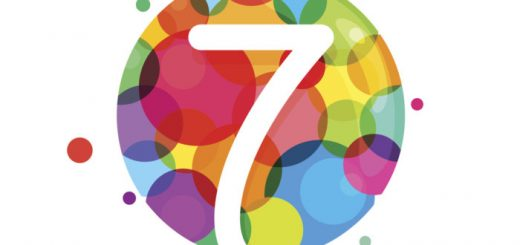 number 7 in colorful circles top seven